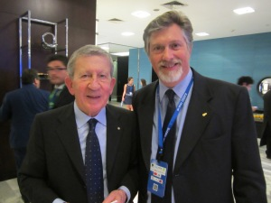 Eduardo Regondi (CAME) Junto a Alessandro Barberis, presidente de EuroChambres