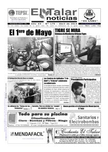 Edición Nº 17 de abril de 2014