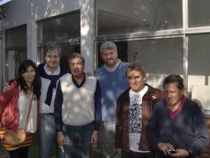 Marta Salvatierra, Jorge Mirás (TEPSI S.A.), Juan José Pintos (TEPSI S.A.), Adolfo Vercellone (TEPSI S.A.), Emilio Garraza y don Pedro.