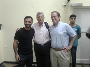 Máximo Cavazzani , Ernesto García, Mariano Castagnaro