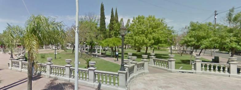 plaza ricardo rojas