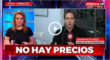 DISPERSION DE PRECIOS CRONICA