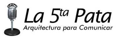 la 5 pata logotipo