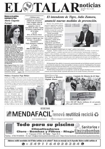 EL TALAR NOTICIAS 246 MARZO 2020.pmd