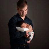 Paulo con niño