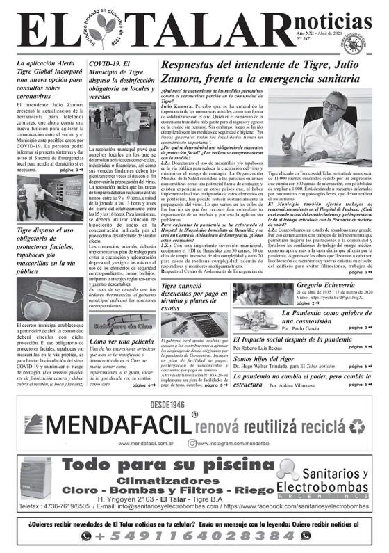EL TALAR NOTICIAS 247 ABRIL 2020.pmd