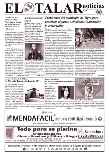 EL TALAR NOTICIAS 248 MAYO 2020.pmd